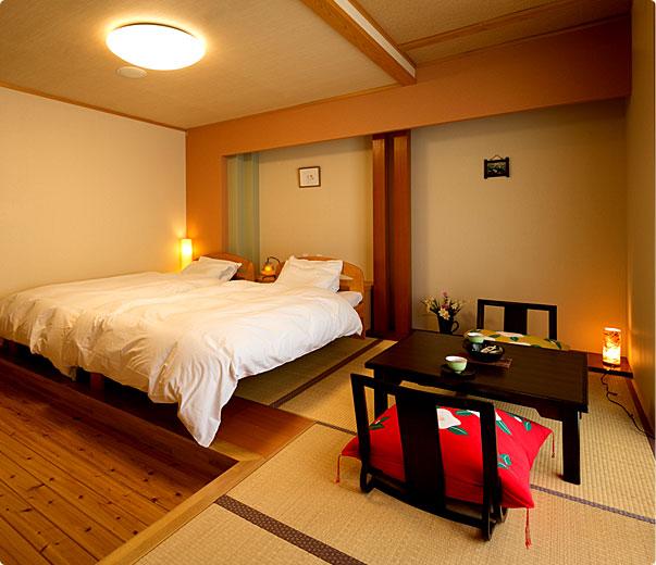 一般客室ベッド式和室