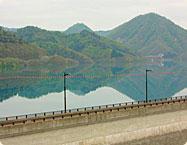 宝仙湖(玉川ダム湖)